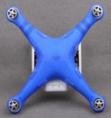 DJI Phantom 3 bodysilicone protective cover (blue)