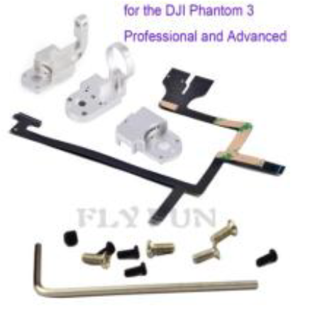 DJI Phantom 3A/P high professional PTZ bracket + Flex cable