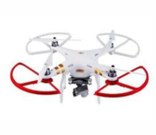 Load image into Gallery viewer, DJI Phantom 2 and 3 quick removal protection ring white