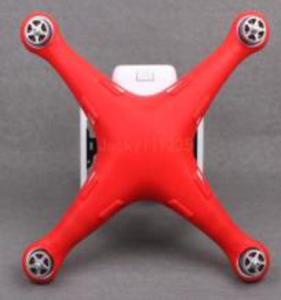 DJI Phantom 3 body silicone dust cover (red)