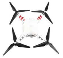 Load image into Gallery viewer, DJI Phantom 2/3 9450 trefoil carbon propellers ( 1 x  Pair)