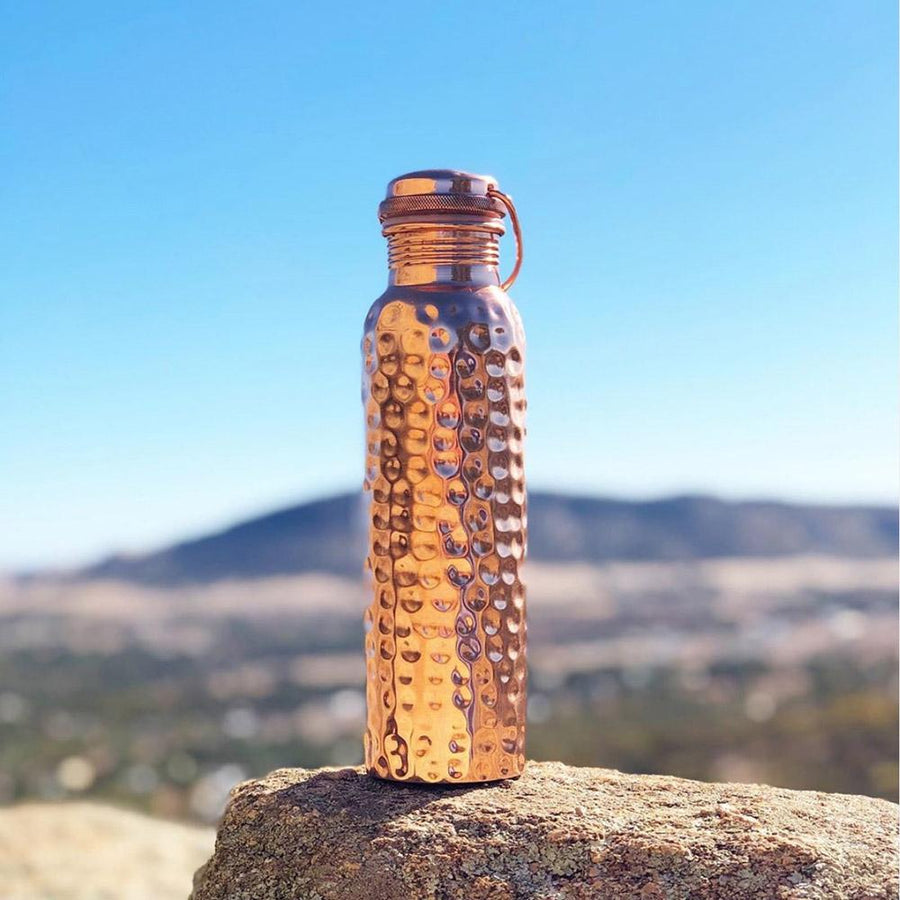 Copper Water Bottle - New Zealand