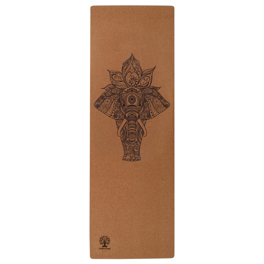 NZ yoga mat with Elephant design