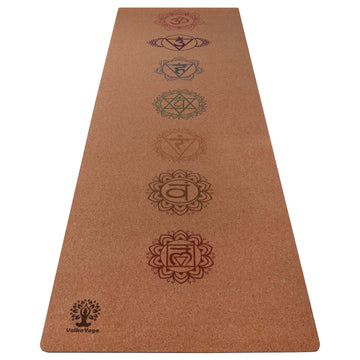 NZ yoga mats with Chakras print