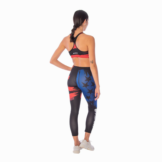 Leggings unisex USA Paint