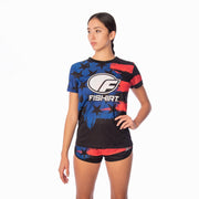 T-shirt fitness USA Paint