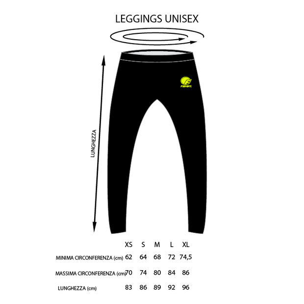Leggings unisex Military