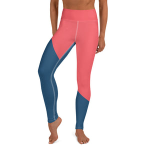 Yoga Tight Red/Blue