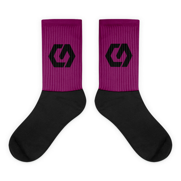 Socks Purple 2