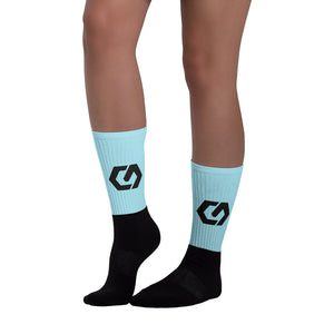 Socks Light Blue