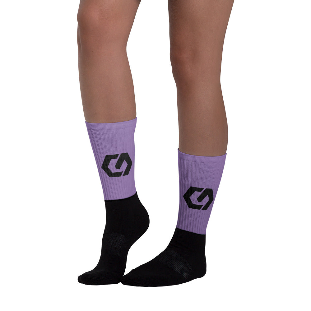 Socks Purple 3