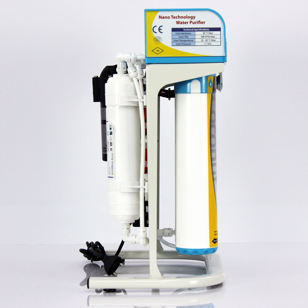 BMB-20 PRO +Biocera Pumped Quick Change 5 Stage Reverse Osmosis System