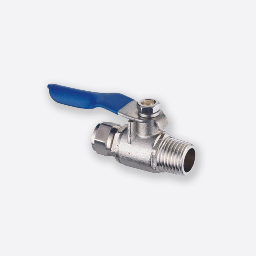 "Brass Ball Valve 1/4"" Connection"