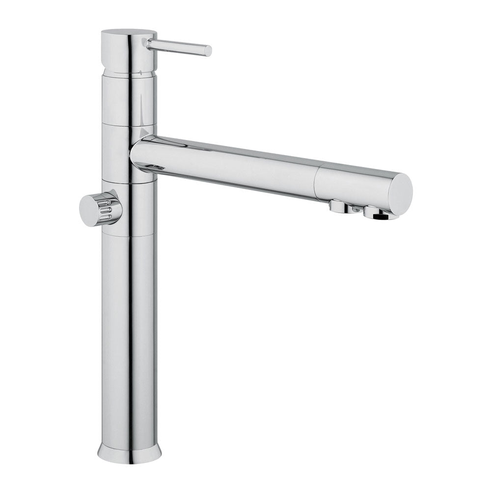 Hommix Picasso Chrome 3-Way Tap (Triflow Filter Tap)