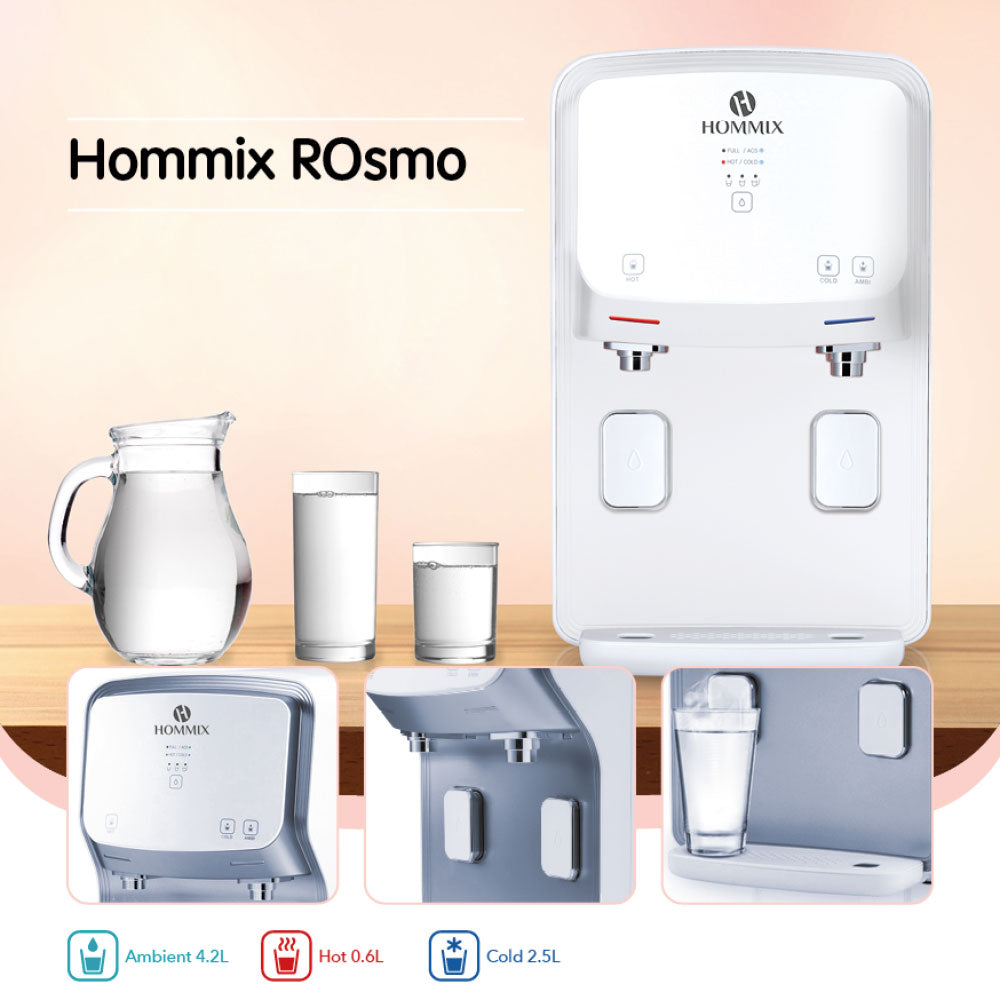 Hommix ROsmo 3-in-1 Countertop Reverse Osmosis Filtration System + UV