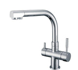 Hommix Berta Chrome 3-Way Tap (Triflow Filter Tap)