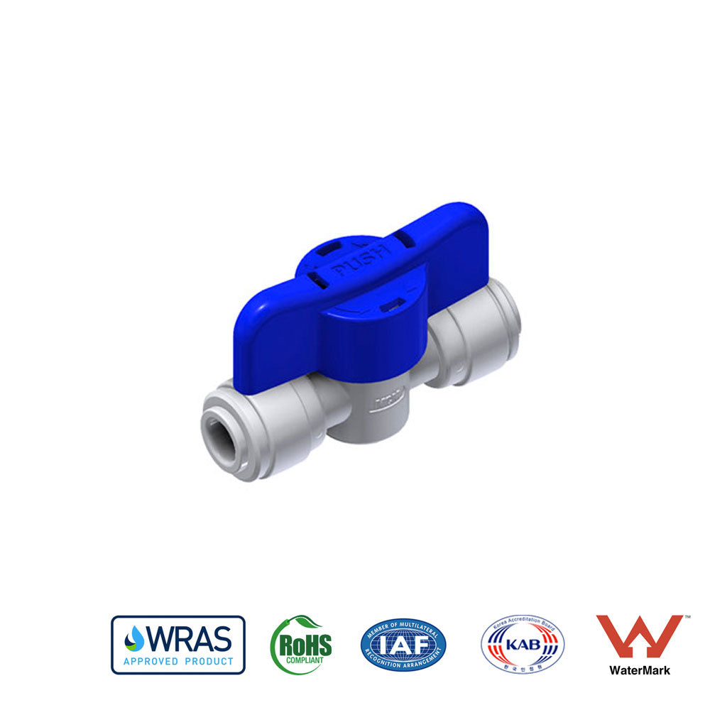 "MCM - 1/4"" x 1/4"" Shut Off Valve (Double Lever)"