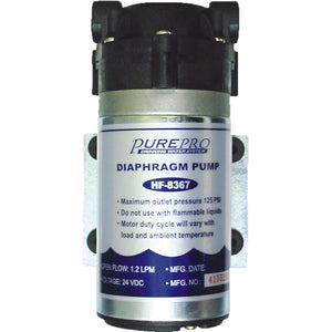 Pure-Pro Diaphragm Booster Pump (HF-8367) for Reverse Osmosis Systems