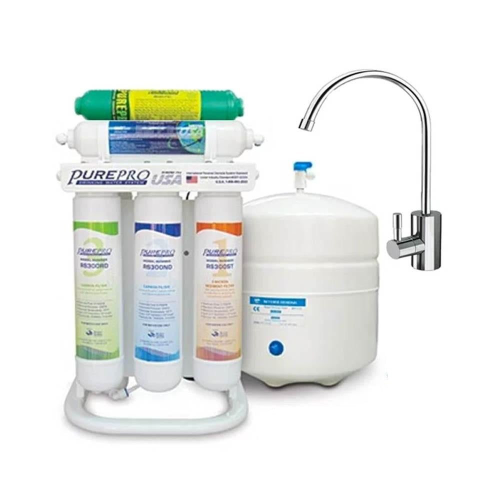 Pure-Pro ERS-106P +Alkaline 6-Stage With Booster Pump RO Drinking Water Filter System