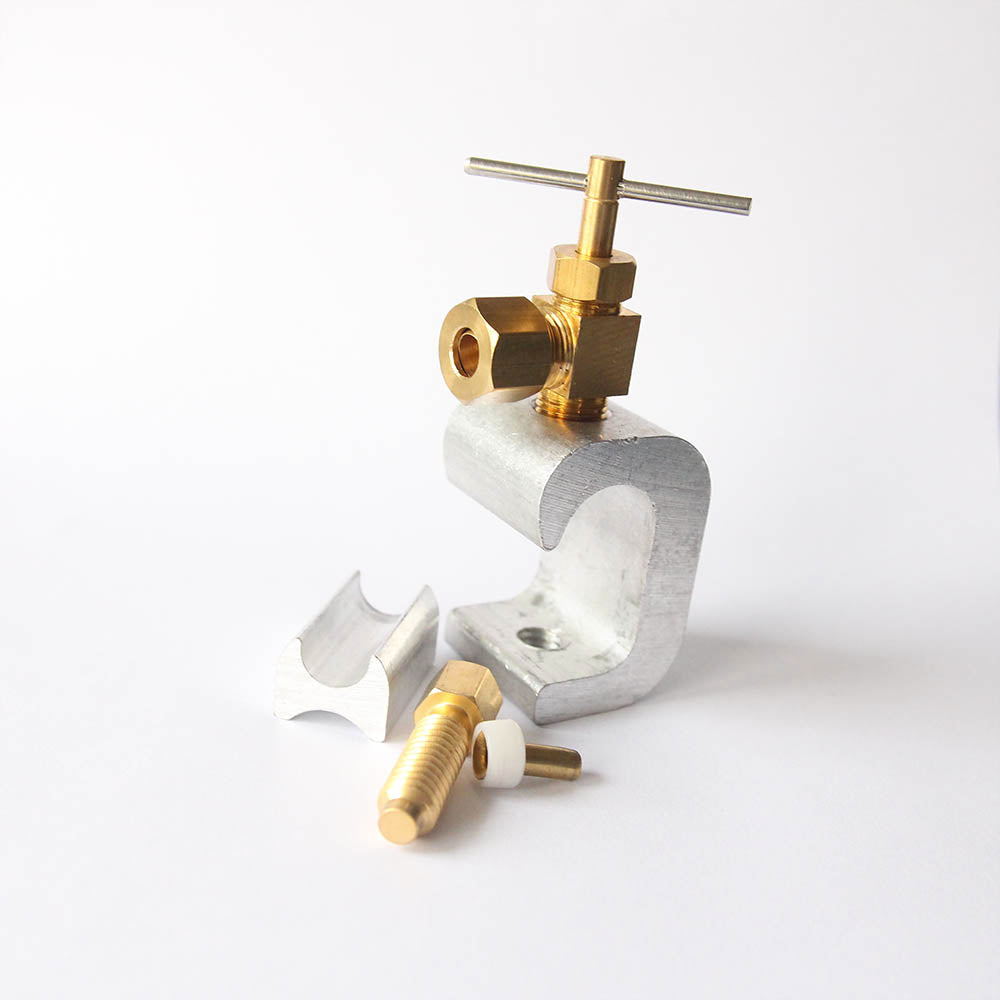 Self Piercing Saddle Valve Clamp for Copper Pipe For RO Systems