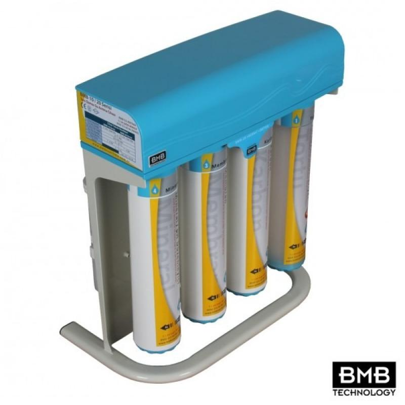 BMB-10 +Alkaline +Detox Non-Pumped Quick Change 6 Stage Reverse Osmosis System