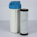 "BMB 9.5"" CTO Block Coconut Shell Carbon Under Sink Drinking Water Filter (With In-line Option)"