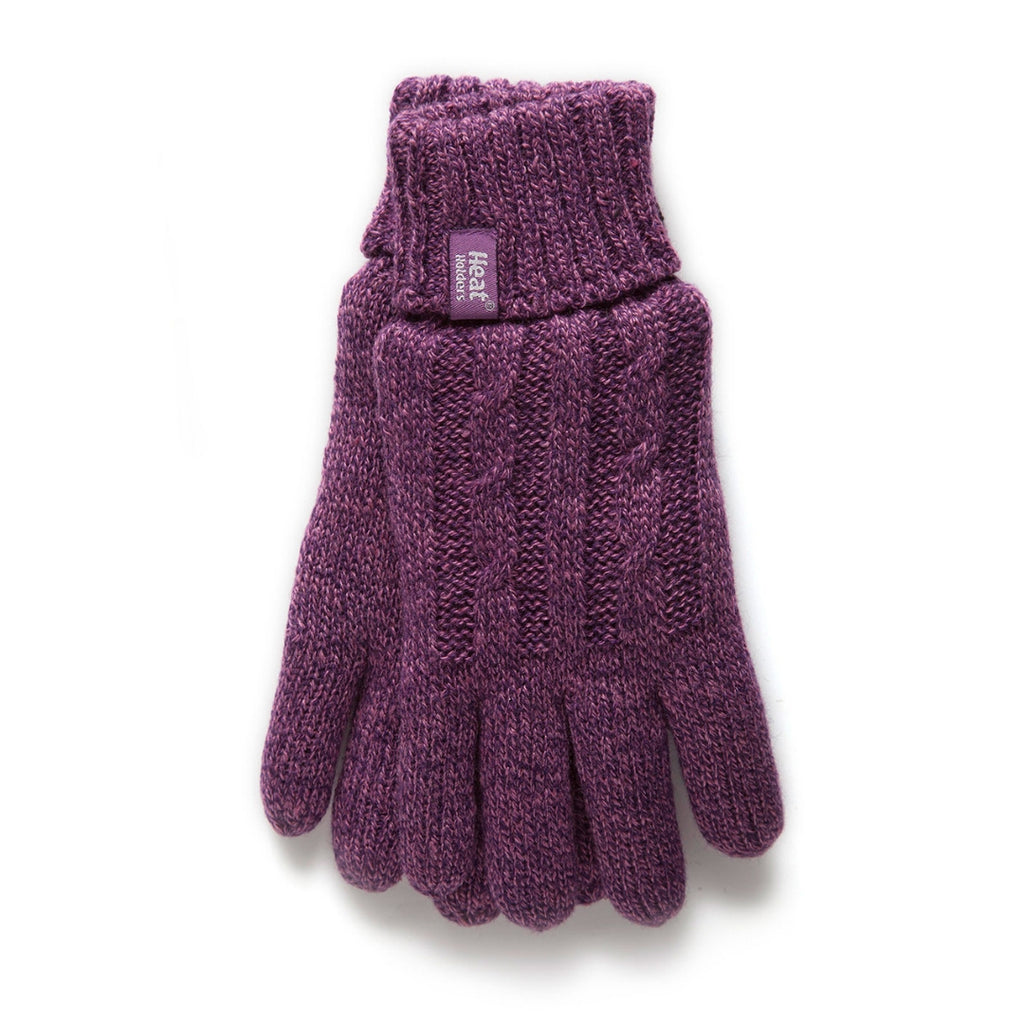Heat Holders Women's Purple S/M Gloves