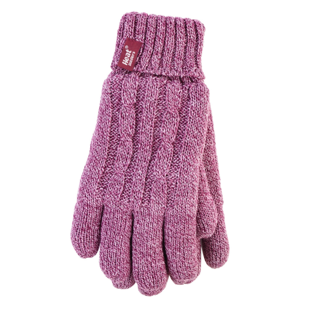 Heat Holders Women's Rose L/XL Gloves
