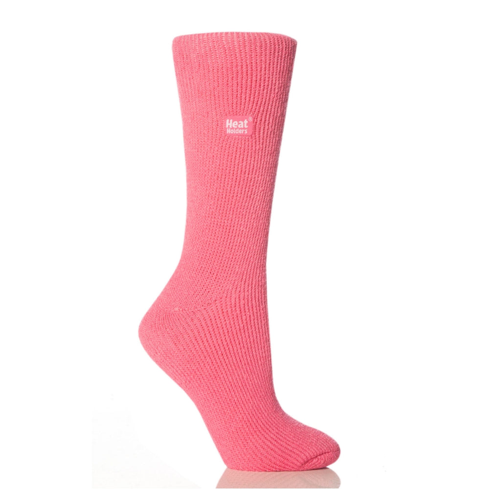 Heat Holders Women's Original Pink Socks