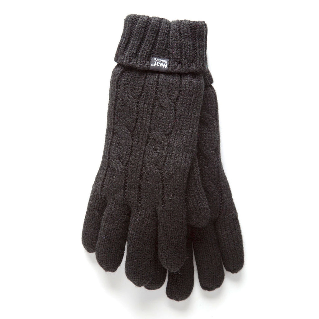 Heat Holders Women's Black L/XL Gloves