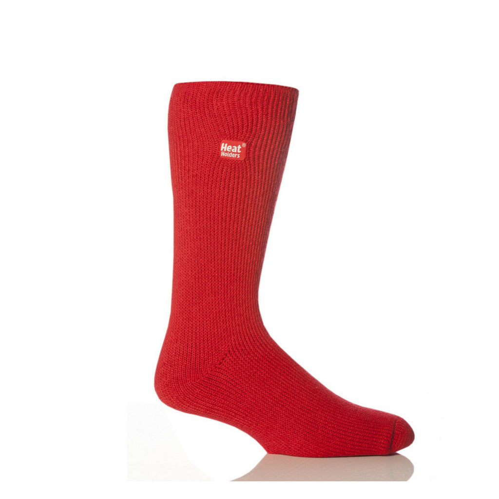 Heat Holders Men's Original Red Socks