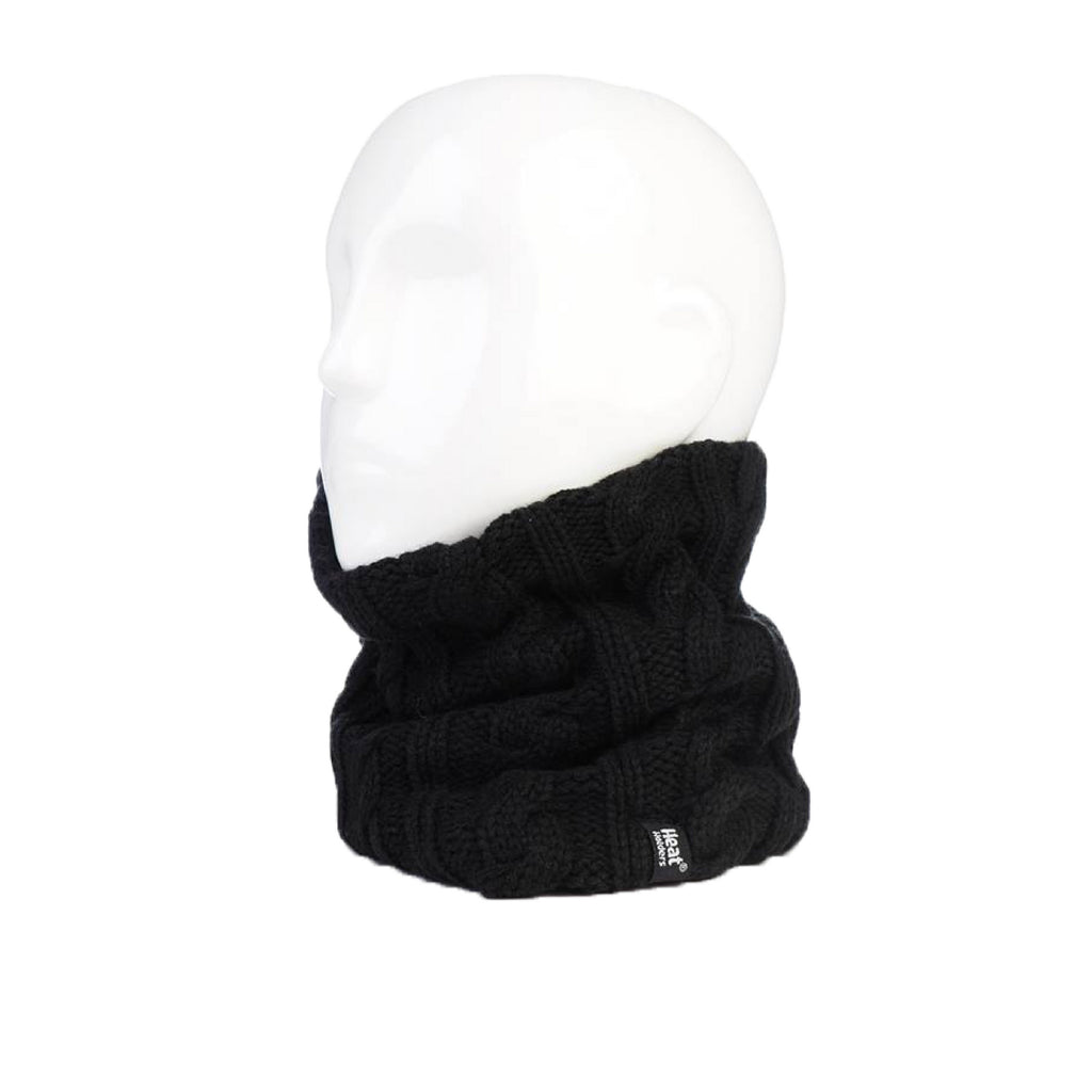 Heat Holders Women's Black Neck Warmer