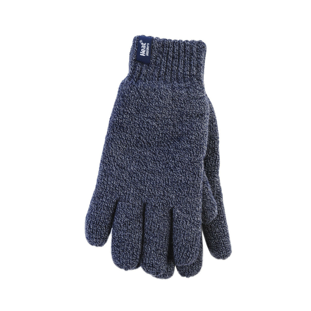 Heat Holders Men's Navy M/L Gloves