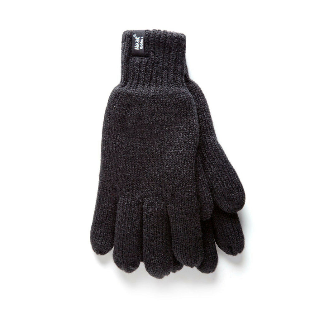 Heat Holders Men's Black L/XL Gloves