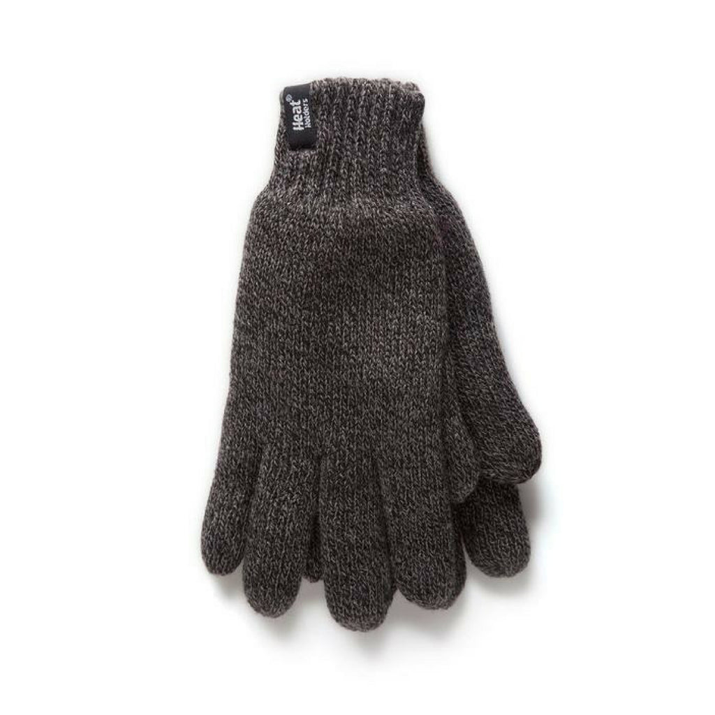 Heat Holders Men's Gray S/M Gloves