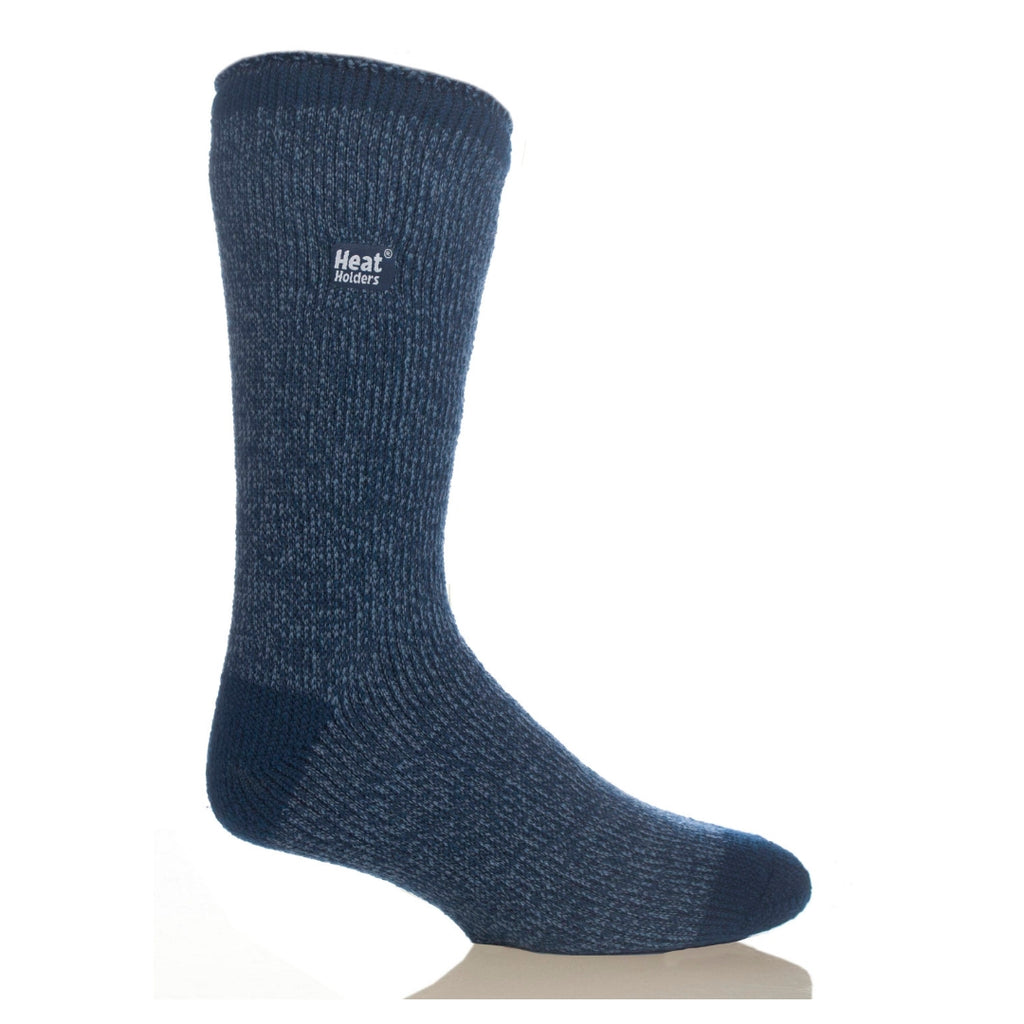Heat Holders Men's Twist Indigo/Denim Socks