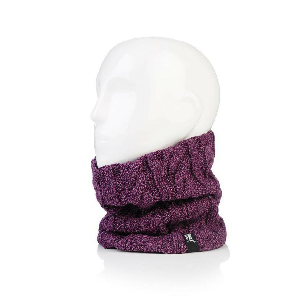 Heat Holders Women's Purple Neck Warmer