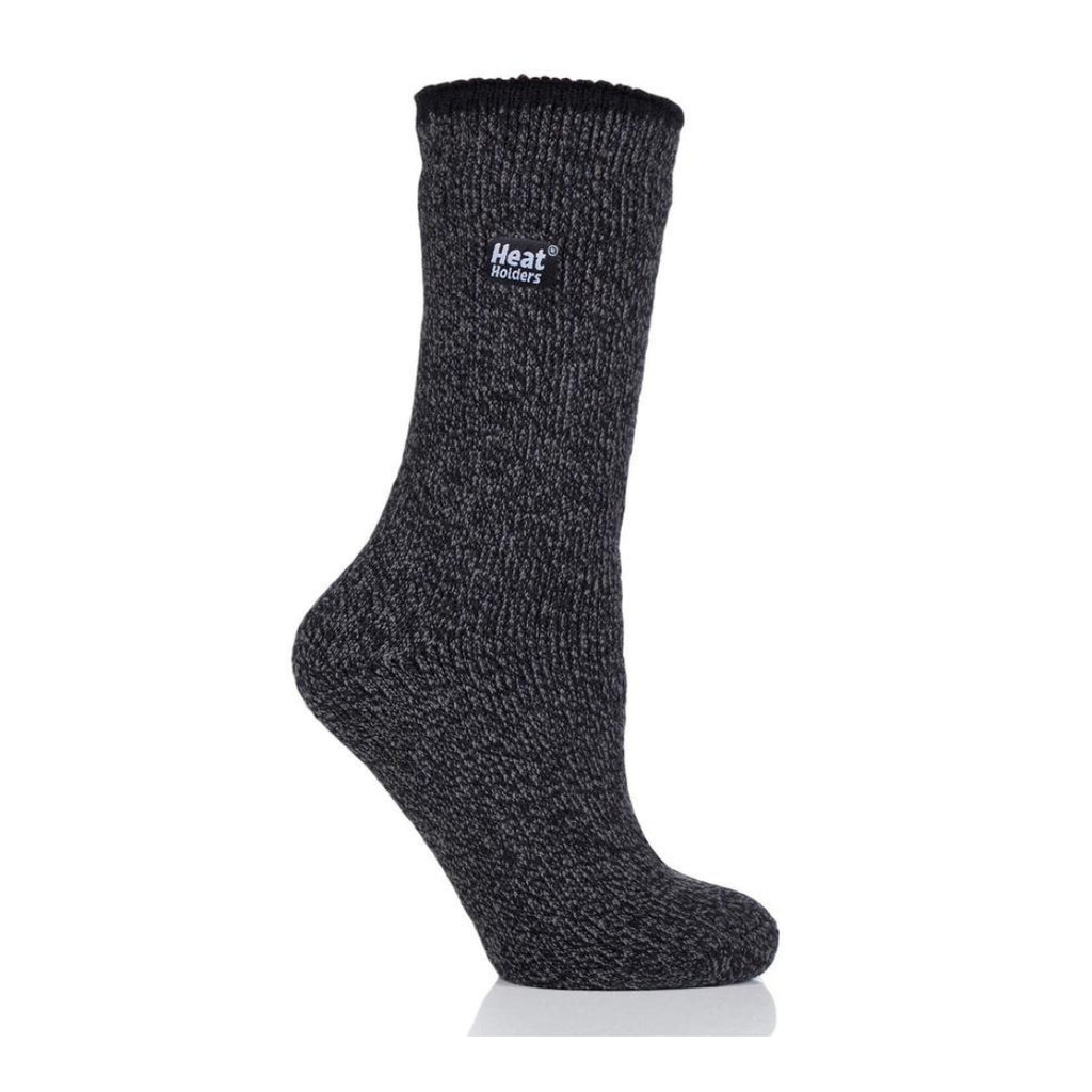 Heat Holders Women's Wool Black Socks