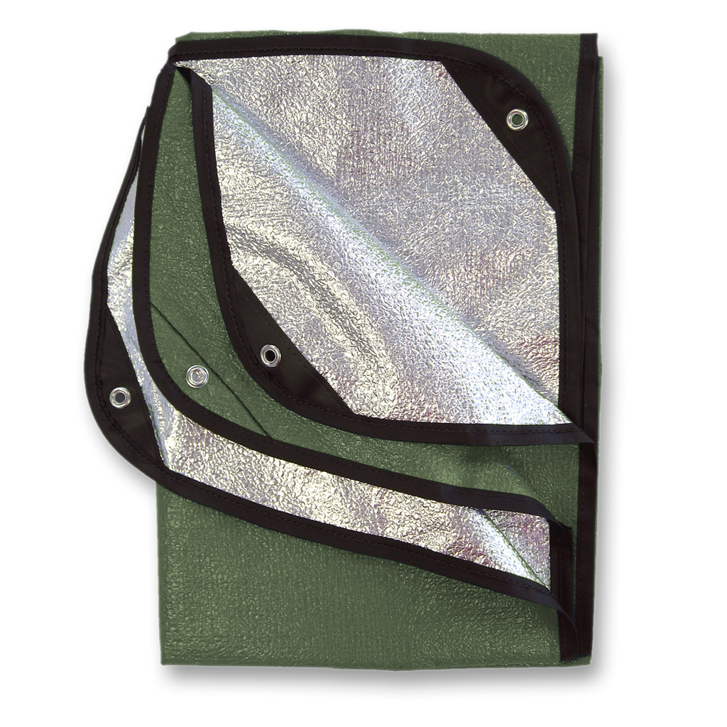 SPACE Brand Olive All Weather Blanket