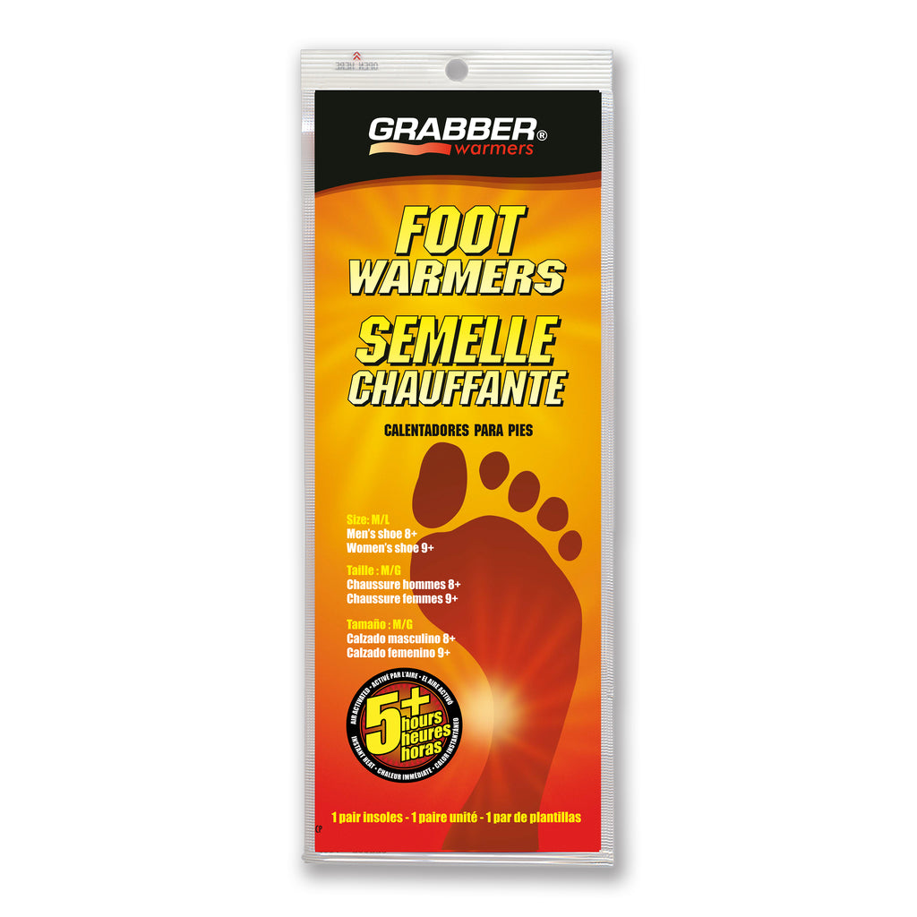 Grabber M/L Insole Foot Warmers