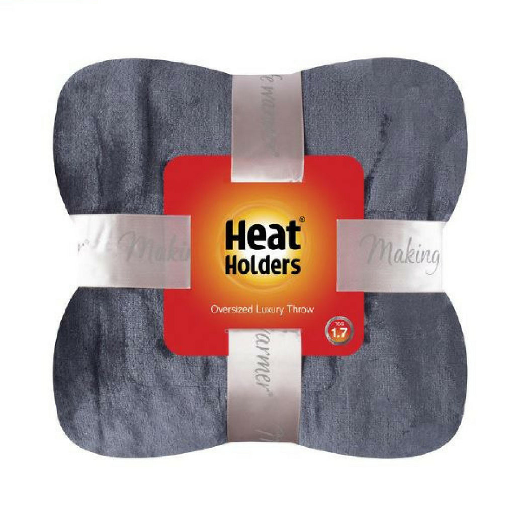 Heat Holders Plush Fleece Blanket