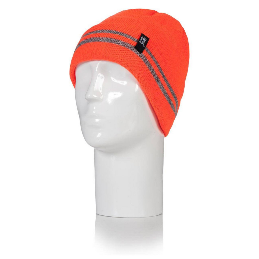 Heat Holders Men's Bright Orange Worxx Hat