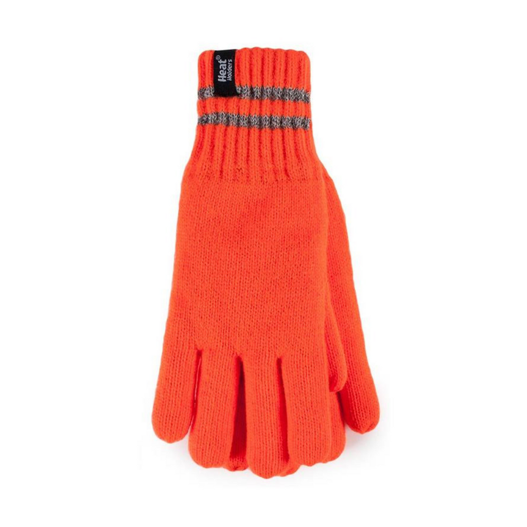 Heat Holders Men's Bright Orange L/XL Worxx Gloves