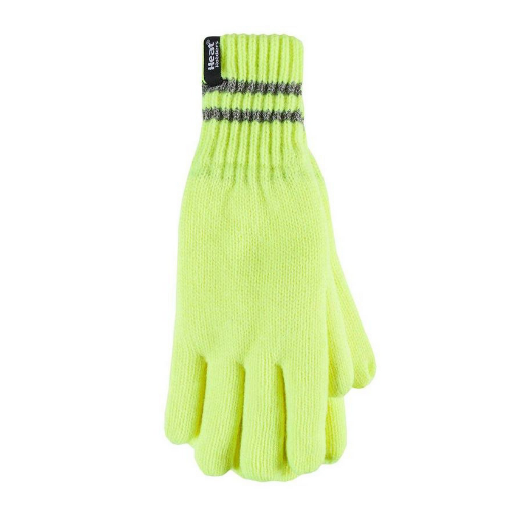Heat Holders Men's Bright Yellow L/XL Worxx Gloves