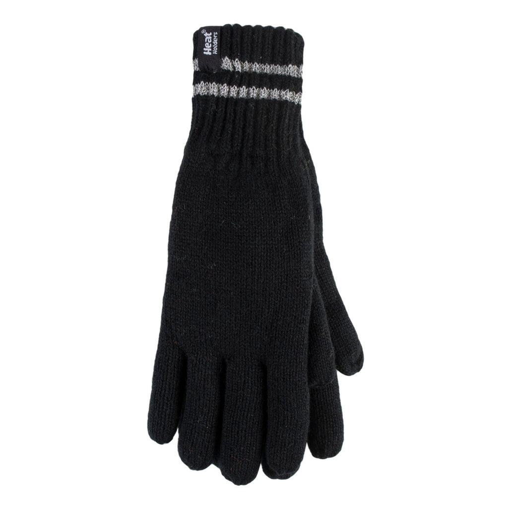 Heat Holders Men's Black M/L Worxx Gloves