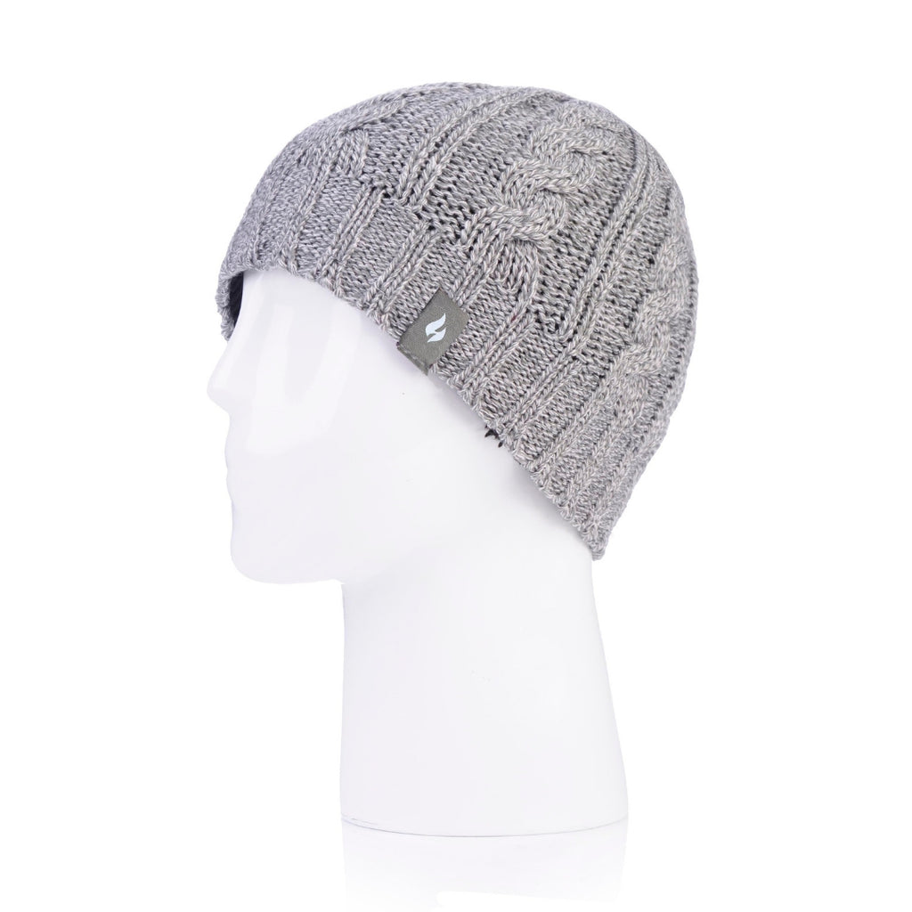 Heat Holders Women's Light Gray Hat