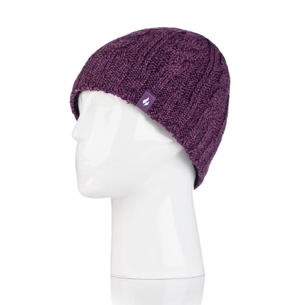 Heat Holders Women's Purple Hat