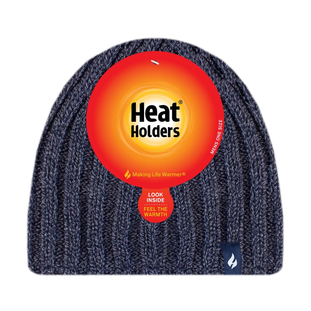 Heat Holders Men's Navy Hat