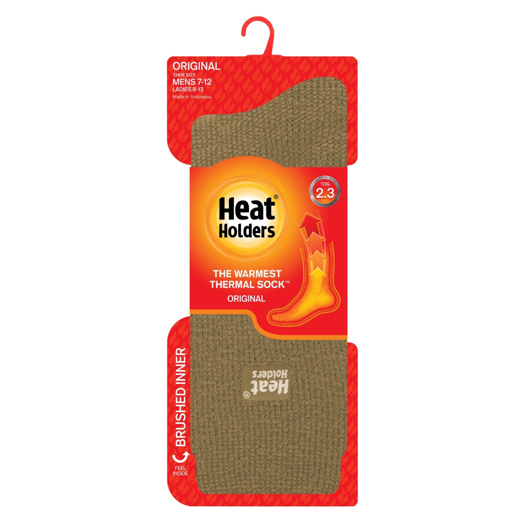 US Shoe Size 7-12 Mens Original Heat Holders Thermal Socks