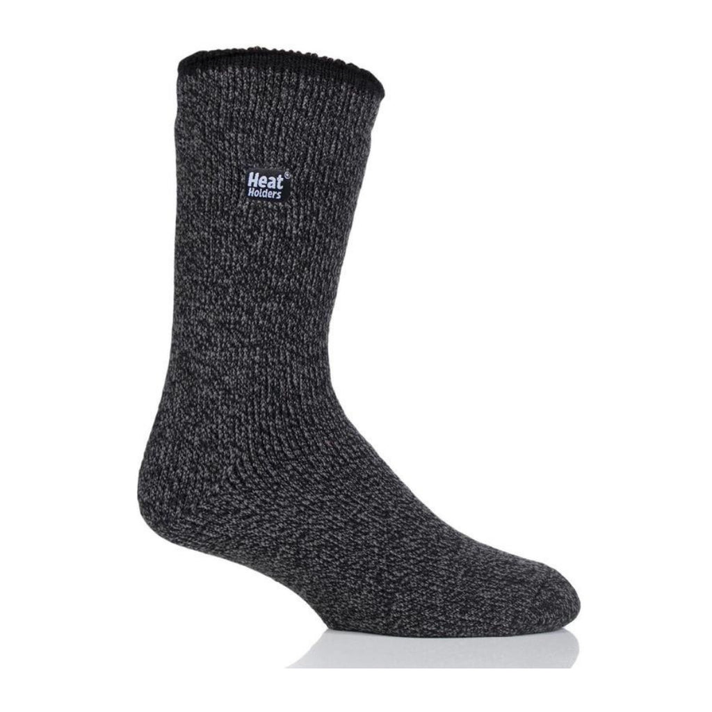 Heat Holders Men's Wool Black Socks